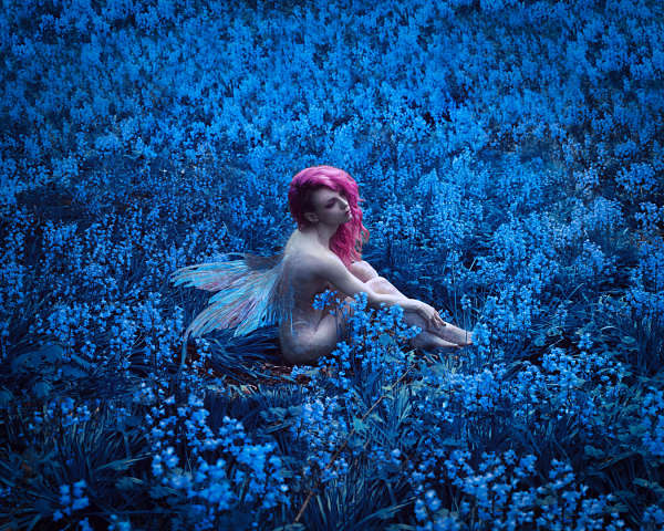 nude fairy photography