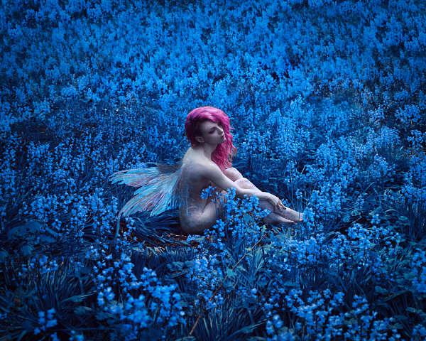 nude fairy photography