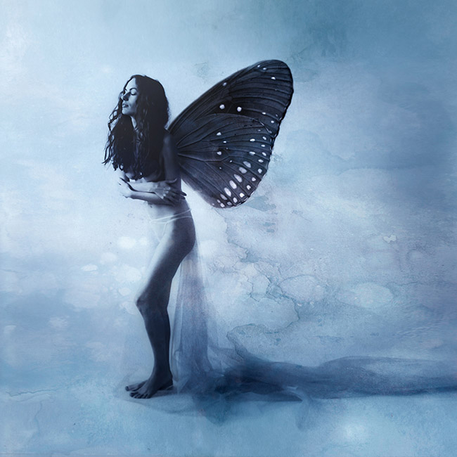 Aliis Sinisalu nude woman with butterfly wings photography
