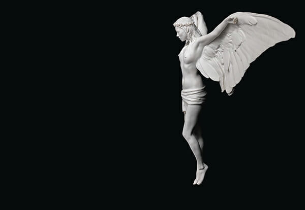 Nick Knight 3D printing Kate Moss