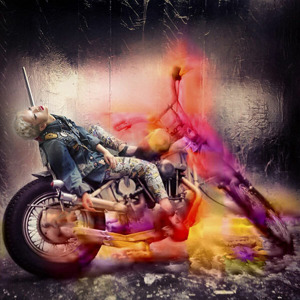 Nick Knight #DIESELTRIBUTE campaign