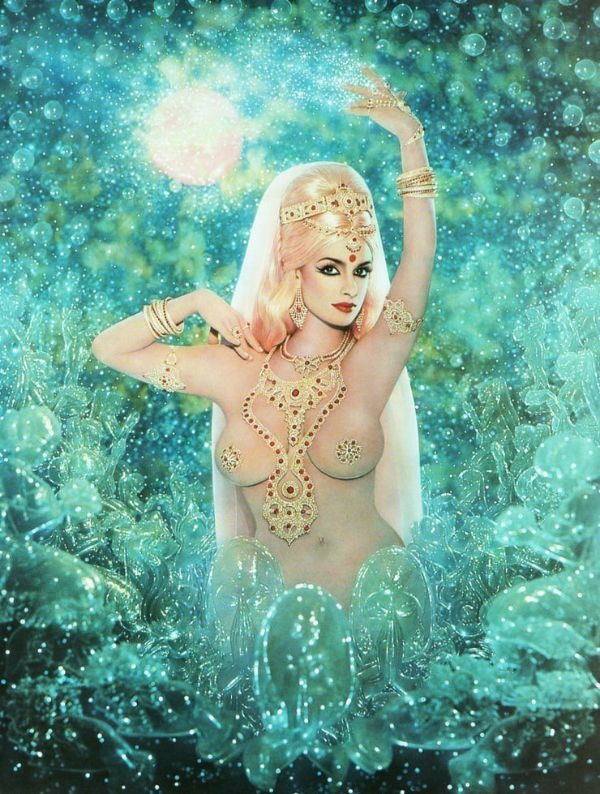 Pierre et Gilles Portrait Female Indian Princess