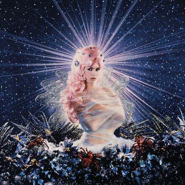 Pierre et Gilles Portrait Woman Cocoon Wings