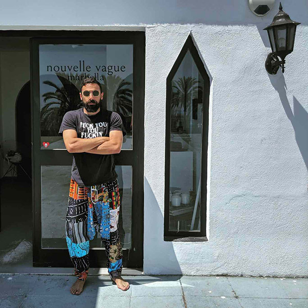 Samer Fouad artist profile EXT./INT. INT./EXT
