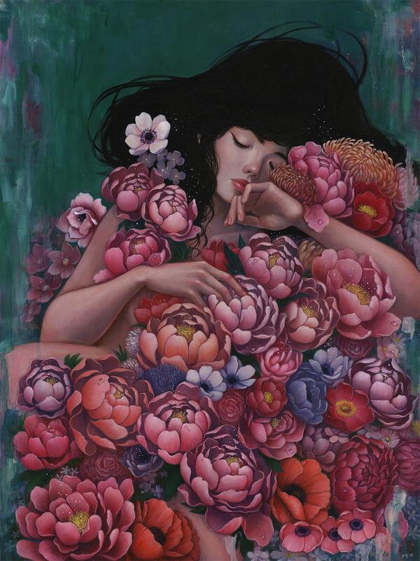 Stella Im Hultberg floral painting