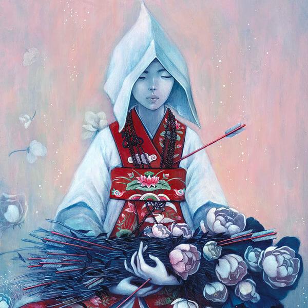 Stella Im Hultberg Korean folk art painting