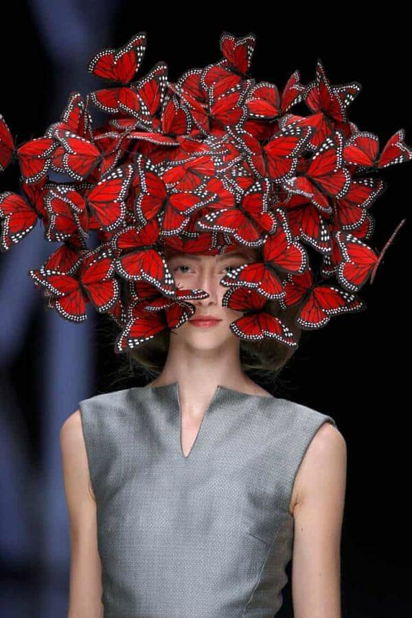 Sera Gamble Alexander McQueen haute couture