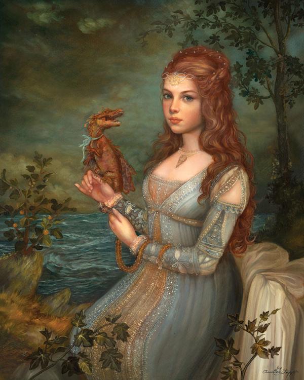 Annie Stegg Gerard - surreal painting