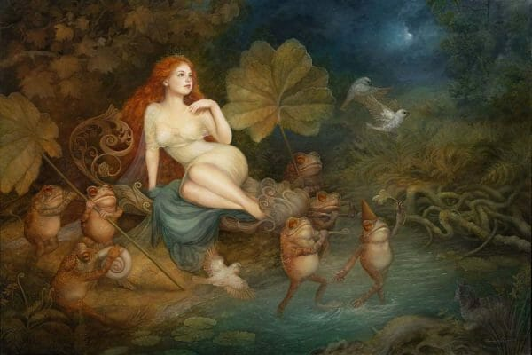 Annie Stegg Gerard - Moonlight Parade