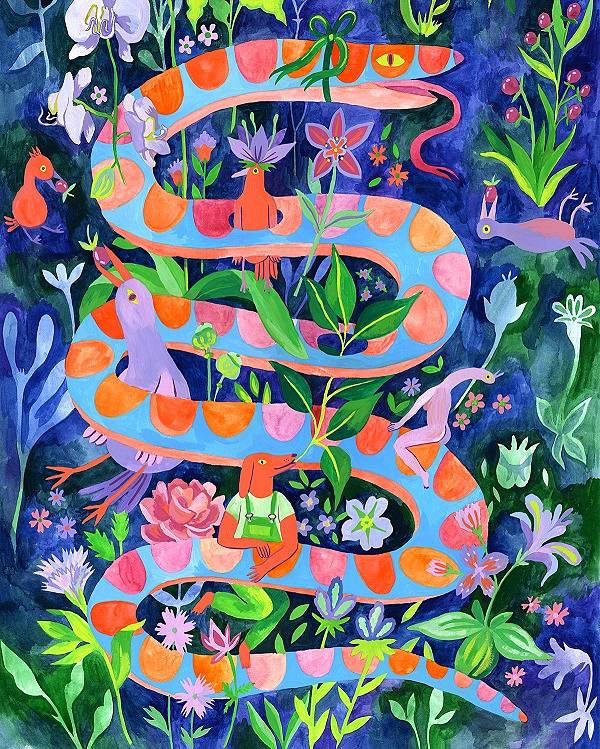 Lisa Hanawalt surrealistic illustration