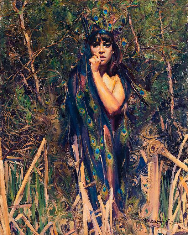 Sergio Lopez nude painting