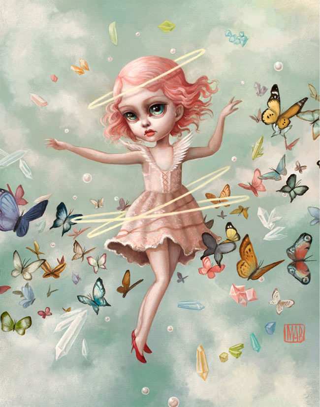 Mab Graves pop surrealism painting