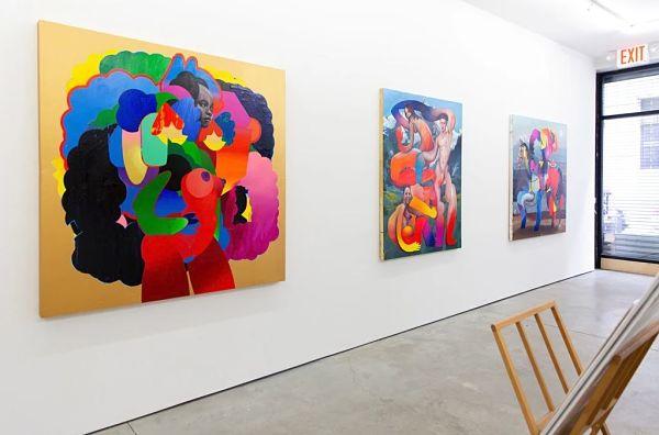 Erik Jones Country exhibition Hashimoto Gallery