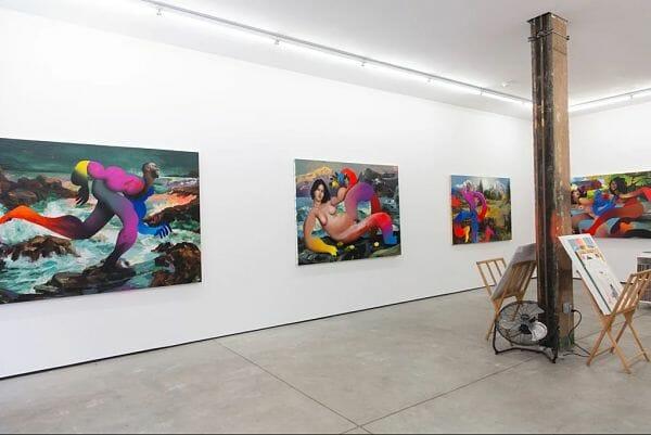 Erik Jones Country Exhibition at Hashimoto Contemporary
