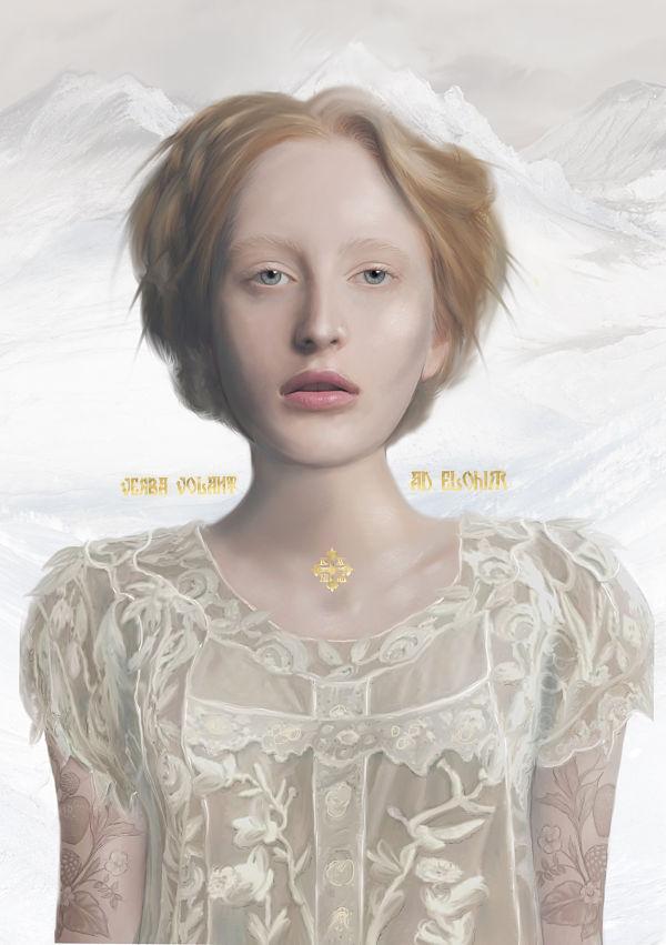 Juliana Loomer arctic digital painting