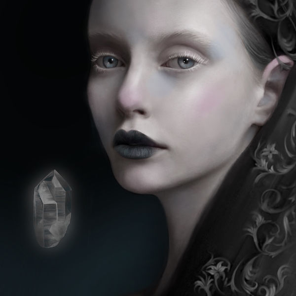 Juliana Loomer dark surreal digital painting