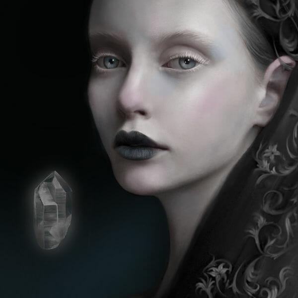 Juliana Loomer dark surreal digital painting