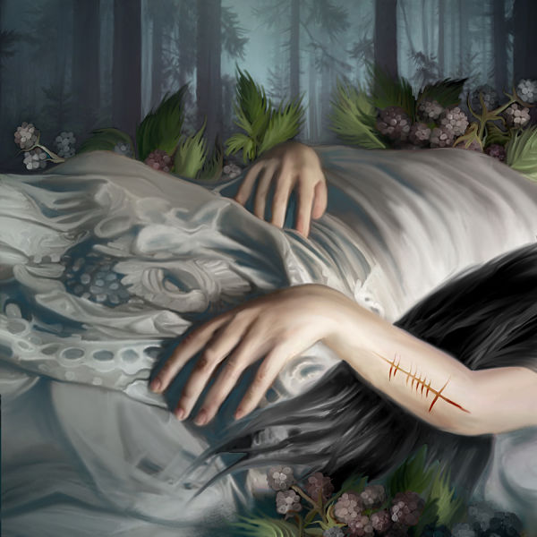 Juliana Loomer sleeping beauty dark art