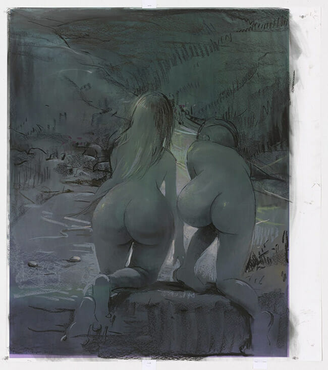 Lisa Yuskavage nude surreal painting