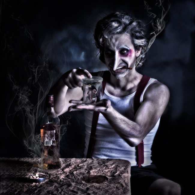 Lorena Cordero photography dark Pinocchio