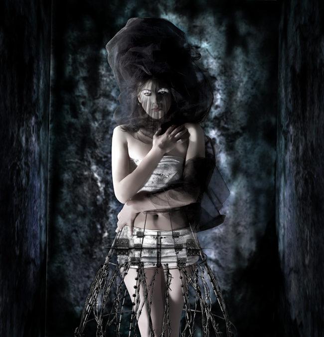 Lorena Cordero chastity photography