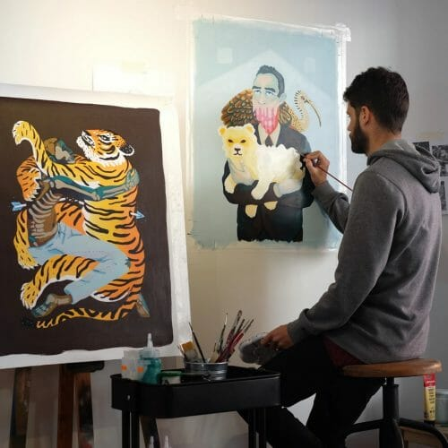 Marcos Navarro exhibition at talon gallery