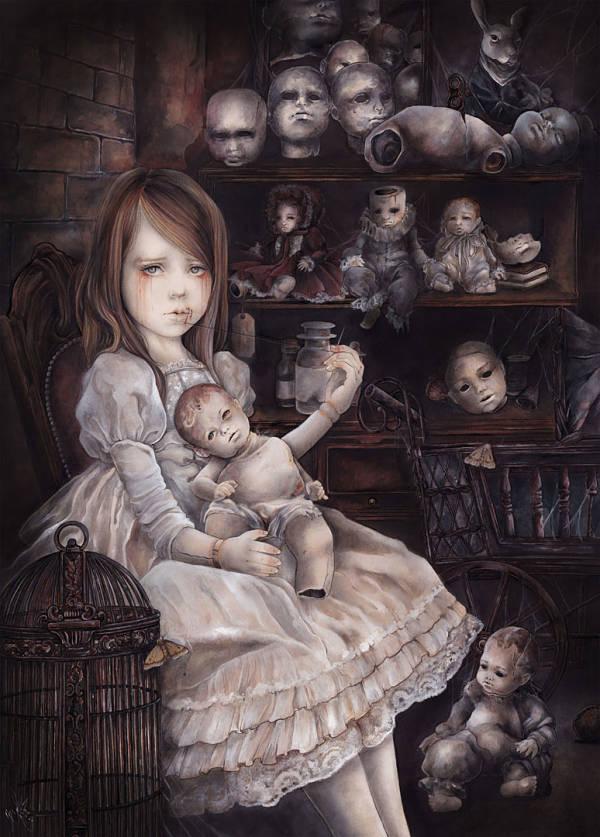 "Yuriko Shirou, ""The Dark Room"" Casa de Muñecas II (Doll House II)"