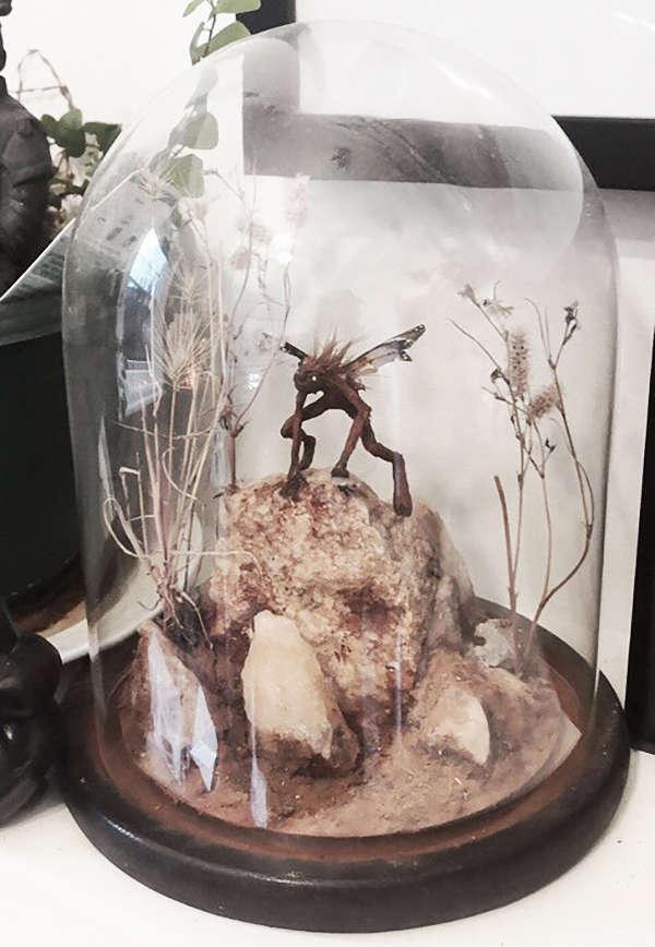 faerie sculpture artist Nickas Serpentarius