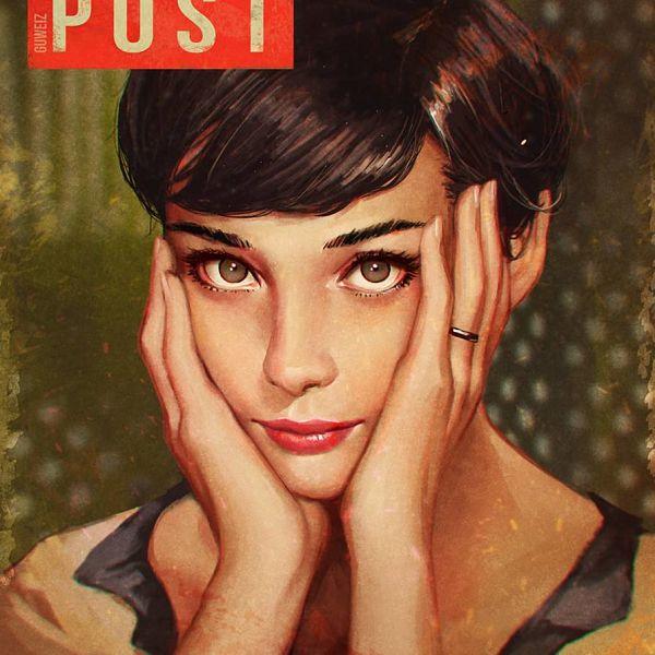 Guweiz Audrey Hepburn portrait