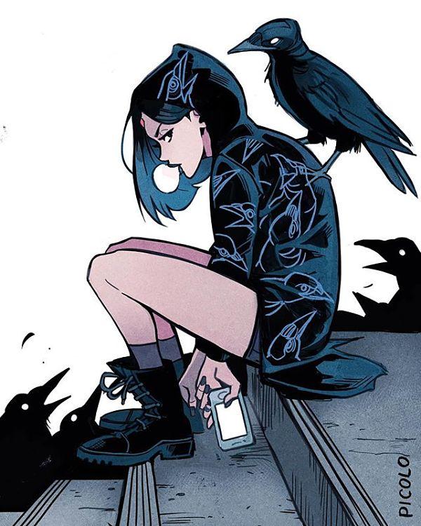 Gabriel Picolo Raven Teen Titans digital