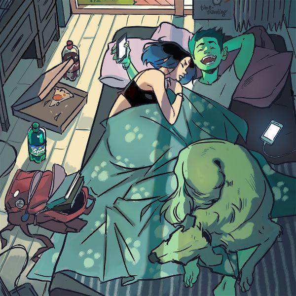Gabriel Picolo Teen Titans digital