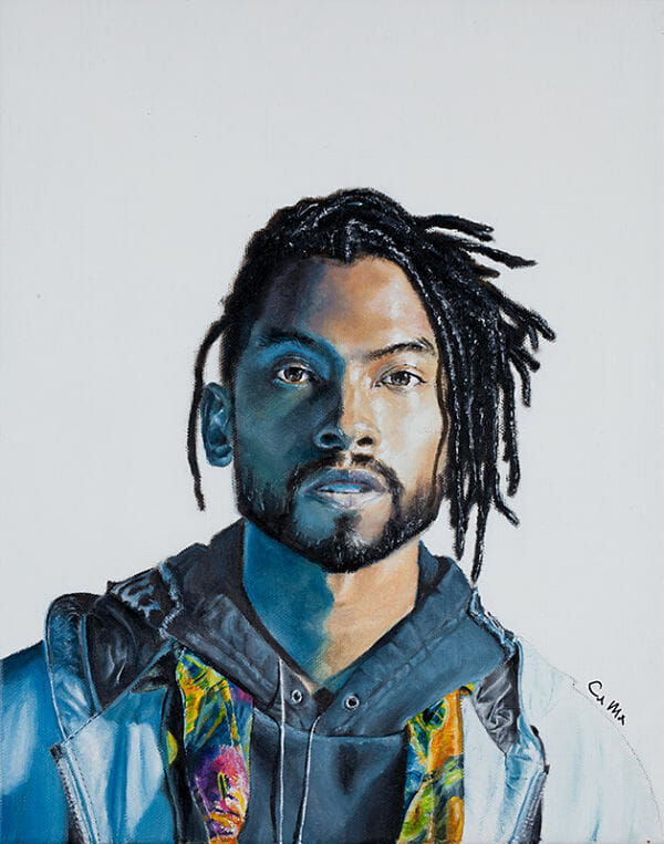 Carlo Miranda Miguel realism portrait painting