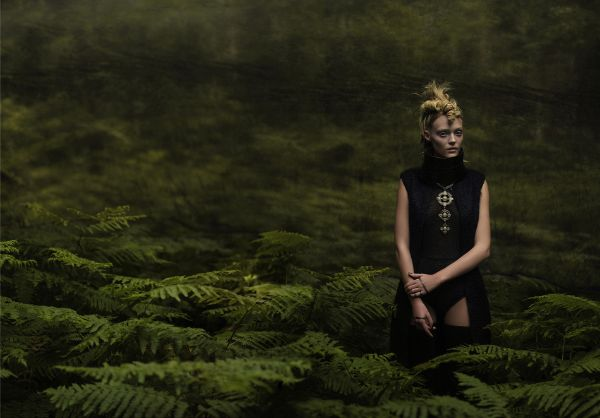 Eugenio Recuenco woman in forest photography