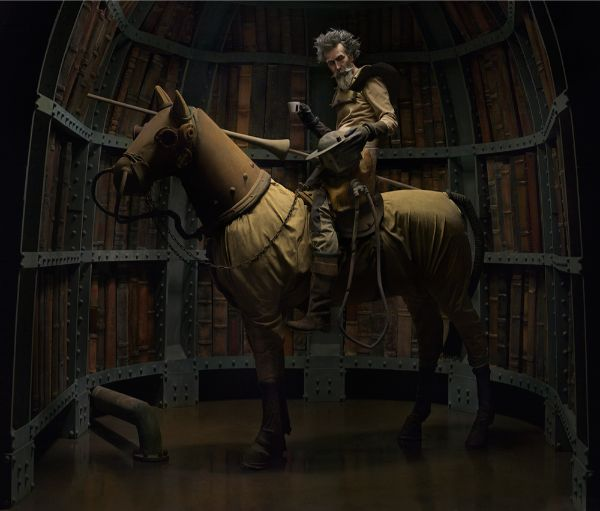 Eugenio Recuenco man on horse