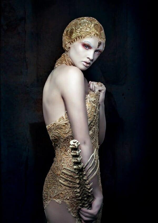 Lori Cicchini surreal bones portrait photography