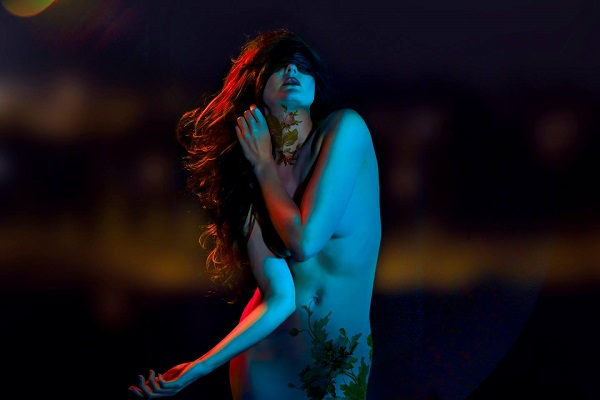 Lori Cicchini surreal blue nude photography
