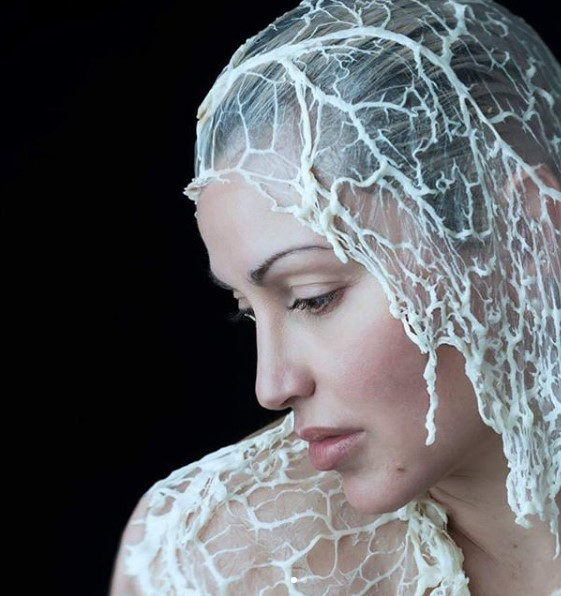Lori Cicchini portrait photography self-portrait shoot for her 50th birthday - Flesh