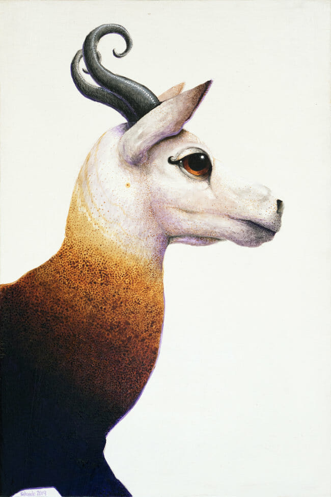 Ricky Schaede animal painting