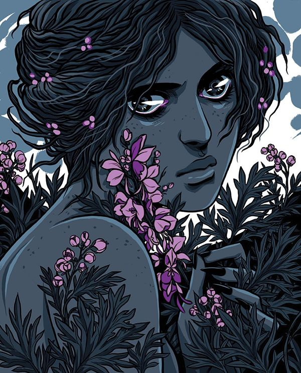 Teresa Sharpe take over Becky Cloonan digital art