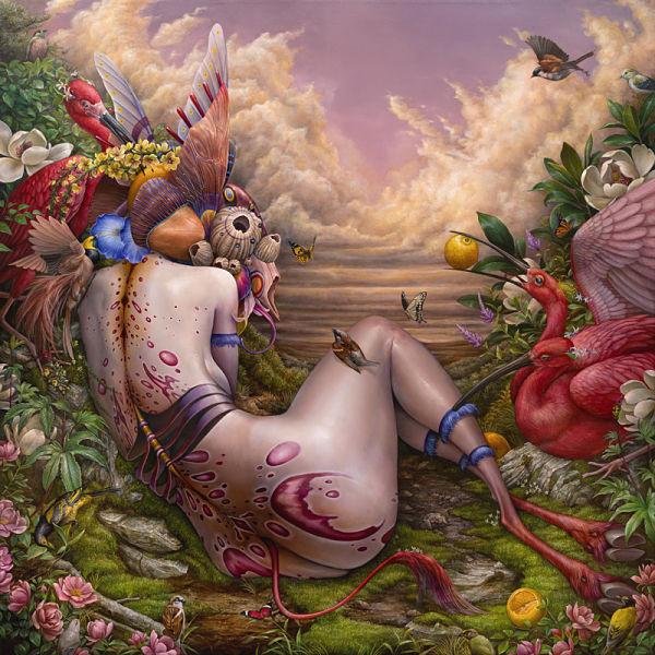 Hannah Yata fantasy nature painting