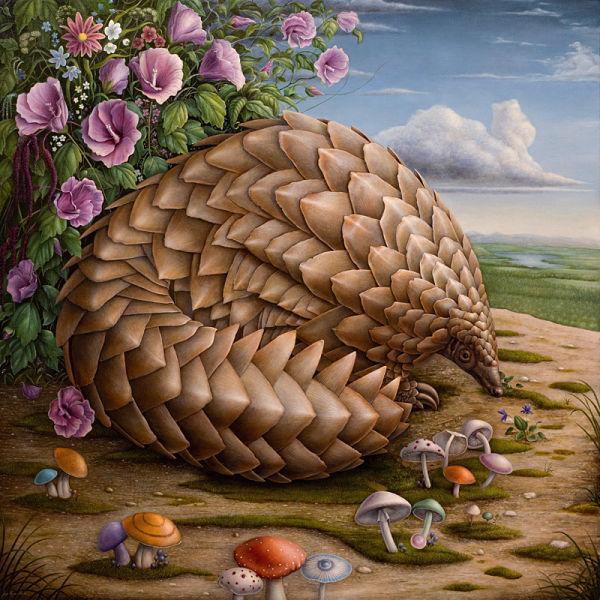 Jean-Pierre Arboleda animal painting