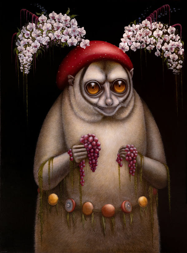 Jean-Pierre Arboleda fantasy animal painting