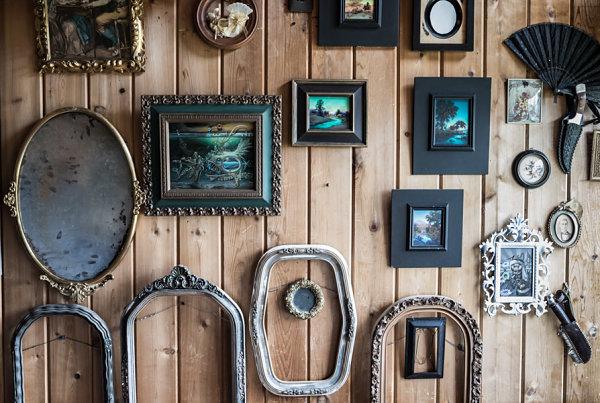 Mark Garro studio frames