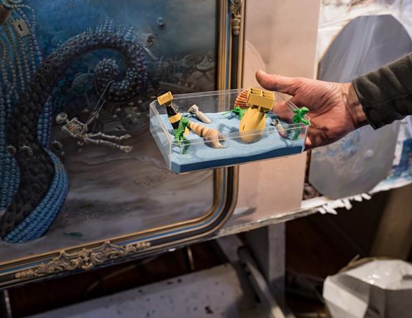 Mark Garro props Children of a Lesser Godzilla