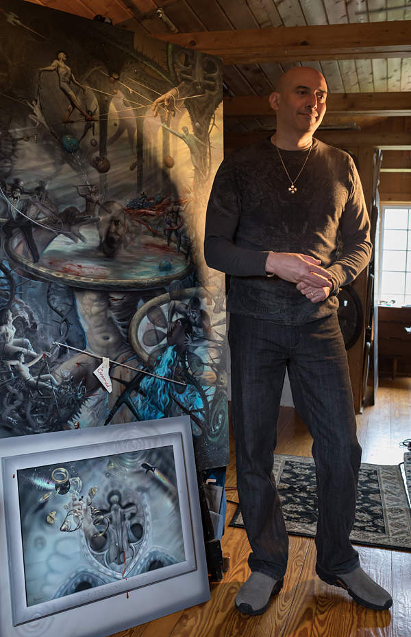 Mark Garro studio Cirque'du Hell
