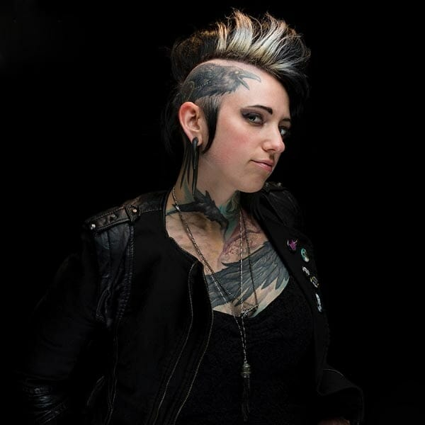 Teresa Sharpe tattoo artist