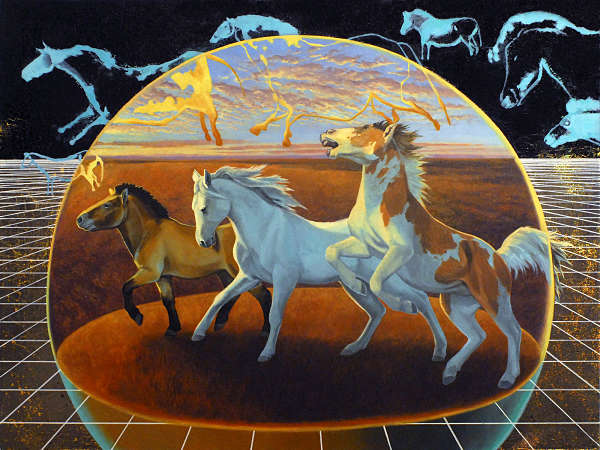 Alexis Kandra Life on Spaceship Earth the first horse