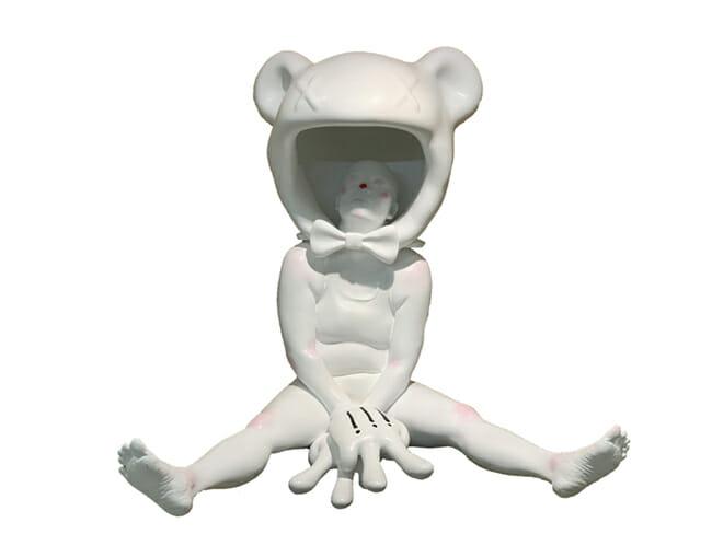 Ciane Xavier surreal sculpture