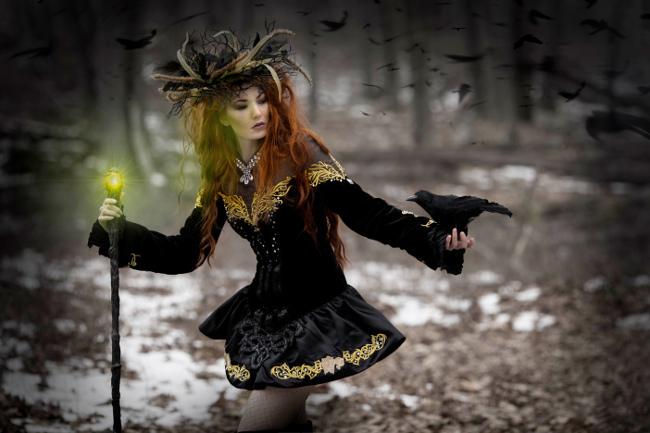 Craggane Designs spellbound raven dress