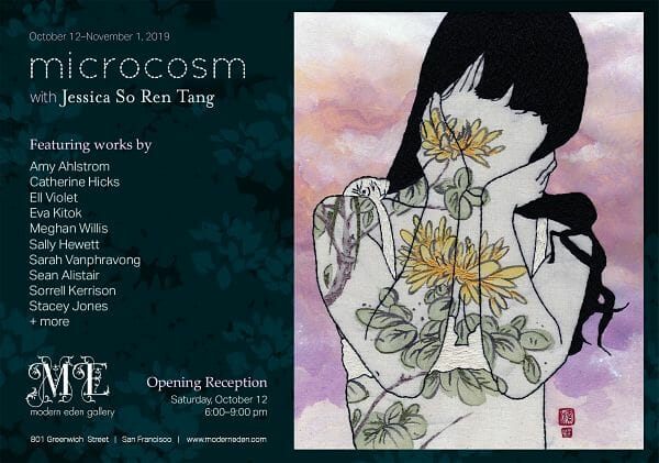 Microcosm with Jessica So Ren Tang at Modern Eden Gallery